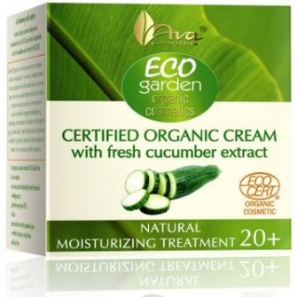 Crema hidratanta de zi  cu castraveti Eco Garden