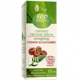 Ser bio energizant si hidratant cu rosii si castraveti Eco Garden