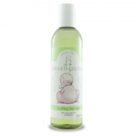 Spuma de baie calmanta cu aloe vera, pentru bebelusi,