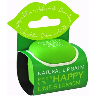 Balsam natural de buze cu lime si lamaie Beauty Made Easy