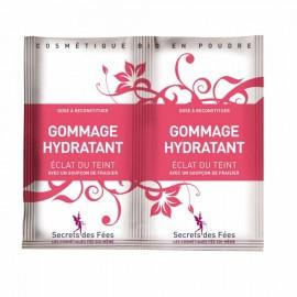 Exfoliant facial hidratant cu capsuni, pentru ten radinat Secrets des Fees