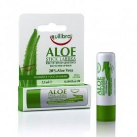 Balsam de buze stick protector cu Aloe Equilibra