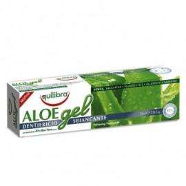 Pasta de dinti gel cu Aloe cu efect de albire Equilibra