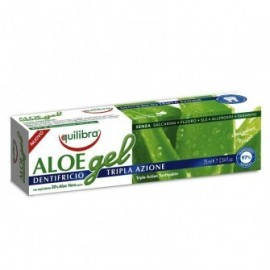 Pasta de dinti gel cu Aloe cu actiune tripla  Equilibra