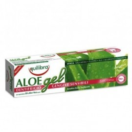 Pasta de dinti gel cu Aloe gingii sensibile Equilibra