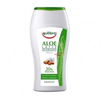 Lapte demachiant cu Aloe Equilibra