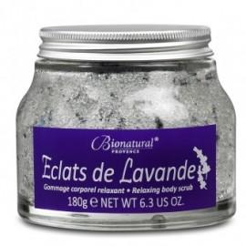 Scrub corporal cu cristale de zahar si lavanda Bionatural