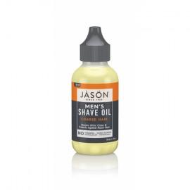 Ulei pentru barbierit, par aspru, Jason, 59 ml