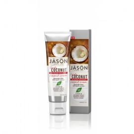 Pasta de dinti cu crema de cocos pentru albirea dintilor , 119 gr , Jason
