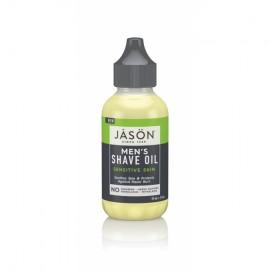 Ulei hidratant pentru barbierit, piele sensibila, Jason, 59 ml