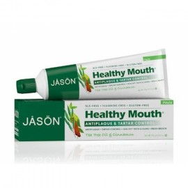 Pasta de dinti anti-placa si tartru, Healthy Mouth, pt. gingii iritate, Jason, 119 g