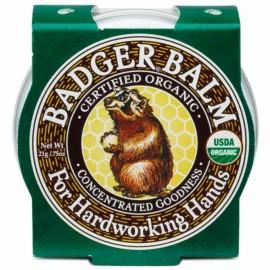 Mini balsam pentru maini crapate, Badger, 21 g