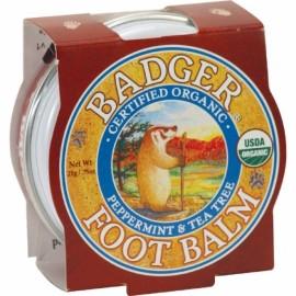 Mini balsam pentru picioare , calcaie crapate, Foot Balm Badger, 21 g