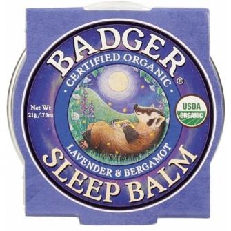 Balsam de corp  pentru un somn linistit, Sleep Balm, Badger, 56 g