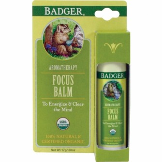 Balsam aromaterapie, Focus Mind, Badger, 17 g