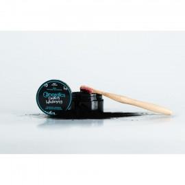 Carbune pudra pt albirea dintilor cu menta, 150 de folosiri, Nordics