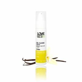 lubrifiant intim, cu aroma de vanilie, Love me Bio, 50 ml