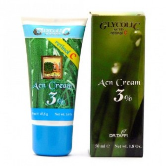 DR. TAFFI - Acn Crema – 3% Acid Glicolic