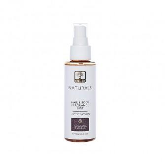 Parfum Hidratant Pentru Par Si Corp Exotic, Cu Macadamia, 100 Ml BIOselect Naturals