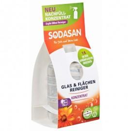 Solutie Bio De Curatare A Geamurilor Concentrata 100 ml Sodasan