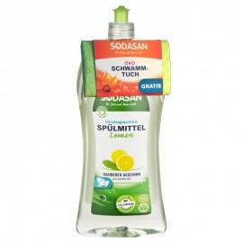 Detergent lichid ecologic pentru vase Sodasan