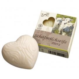 Inimioară - săpun cremos cu lapte de oaie (65g)