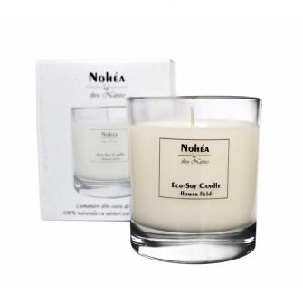 Lumanare parfumata din soia, Flori de Camp, Nohea, 300g