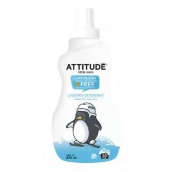 Detergent lichid de rufe hipoalergen pentru bebelusi Attitude