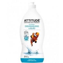 Detergent lichid de vase cu ylang-ylang si lime Attitude