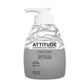 Sapun lichid de maini cu lime si lavanda Attitude