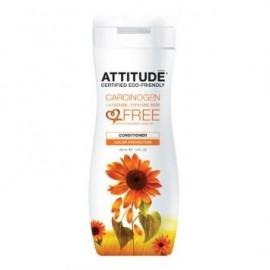 Balsam de par pentru protectia culorii Attitude