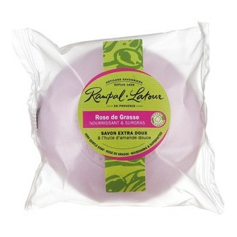 Sapun vegetal cu trandafir de grasse Rampal Latour