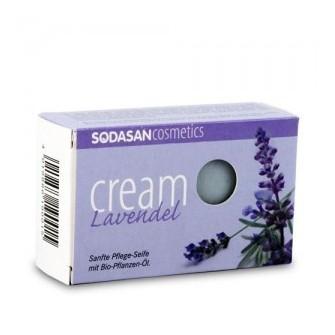 Sapun bio cream cu lavanda Sodasan